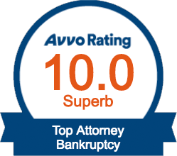 Avvo Rating: Superb - Bankruptcy Law, Charlottesville, Culpeper